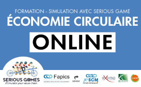 serious game the blue connection économie circulaire afrscm fapics supply chain management